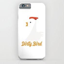 Dirty Bird Chicken Love iPhone Case