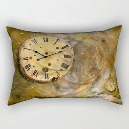 Die Zeit verfliegt ! Rectangular Pillow