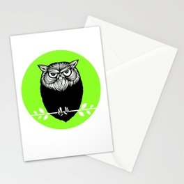 Ms. Owl Stationery Cards