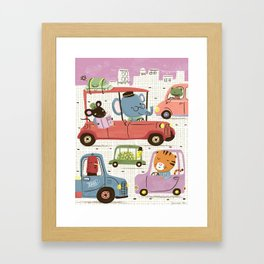 Country Mouse in the City Framed Art Print