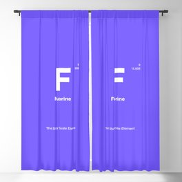 Fluorine Blackout Curtain
