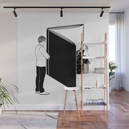You know my name, not my story Wall Mural