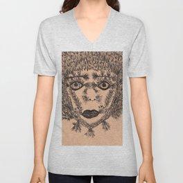 The Cacti Girl Unisex V-Neck