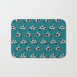 Saigon Traffic Bath Mat