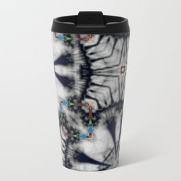 Collaged Pattern 2 Travel Mug