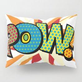 Comic Book Pop Art Sans POW! Pillow Sham