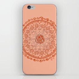 d20 Mandala iPhone Skin