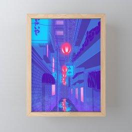 Shibuya Nights Framed Mini Art Print