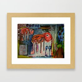 Elephantina Framed Art Print