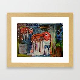 Elephantina Framed Art Print