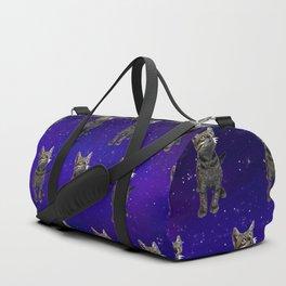 Space Kitten Duffle Bag