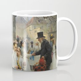 After First Communion by Carl Frithjof Smith (1892) Coffee Mug