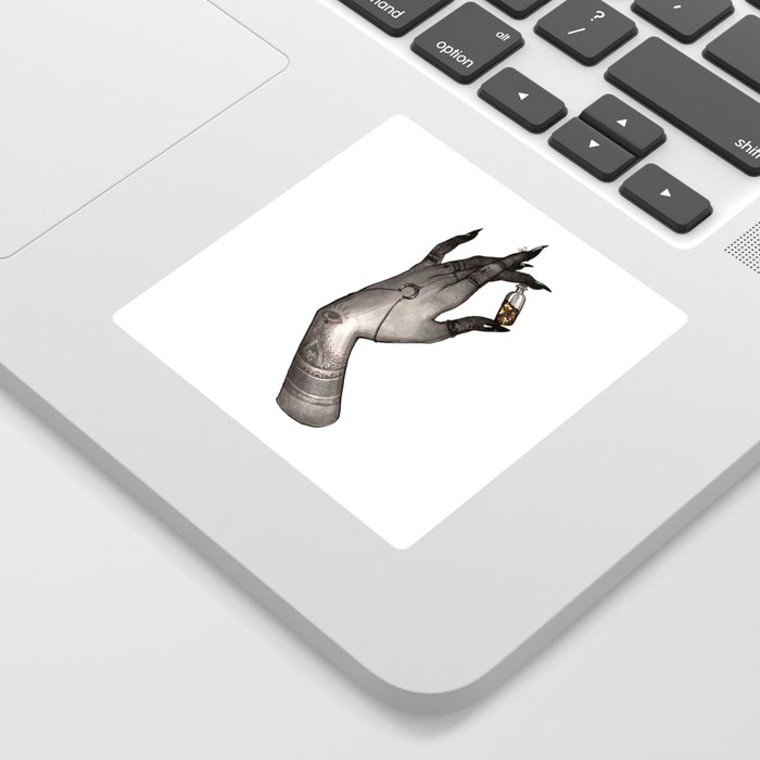 Symbolism Hand Sticker