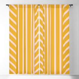 Lined Marigold Blackout Curtain