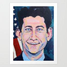 Taliban Republican: Paul Ryan Art Print