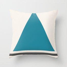 Code Teal Throw Pillow