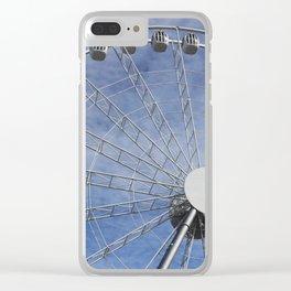 Fun wheel carousel Clear iPhone Case