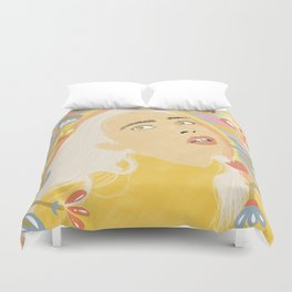 Dizzy Miss Lizzy Duvet Cover