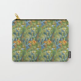 africa pattern elephant Carry-All Pouch
