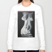 erotic Long Sleeve T-shirts featuring Erotic by Bazarovart