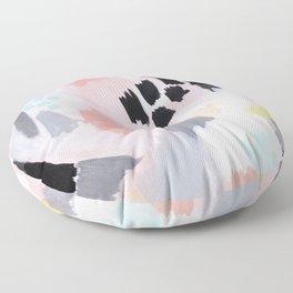 Serene Abstract  Floor Pillow