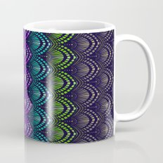 Variations on a Feather I - Deco Style Coffee Mug