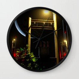 POLES Wall Clock