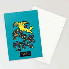 Kissing Dragon Stationery Cards