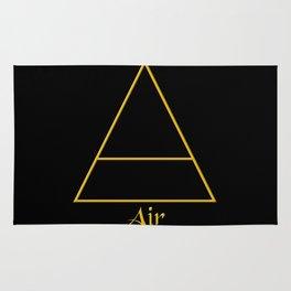 Air Element Symbol Rug