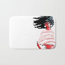 Windswept Afro Bath Mat