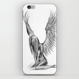 Lonely Angel iPhone Skin