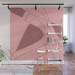 Amazing Pink Wall Mural