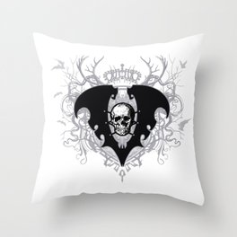 The Lair of Voltaire Crest - Winter Palace Throw Pillow