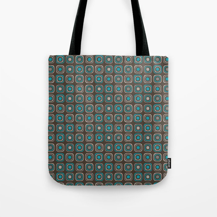 Pattern blue azul 6 Tote Bag