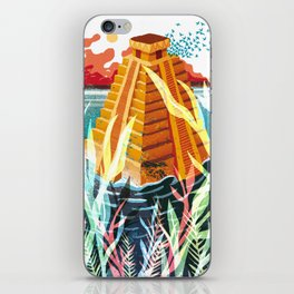 Necklace of Skulls - The Zigurat iPhone Skin