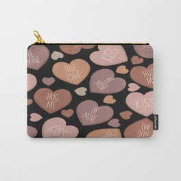 Creative language of hearts in seamless pattern Carry-All Pouch