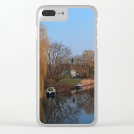 Spring In Holland Clear iPhone Case