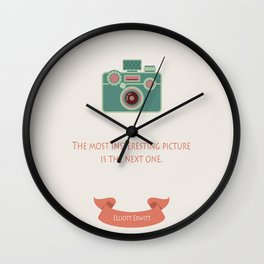 The most interesting picture Wall Clock