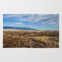 arizona Area & Throw Rugs featuring Arizona by Ian Bevington