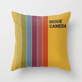 Retro Movie Throw Pillow