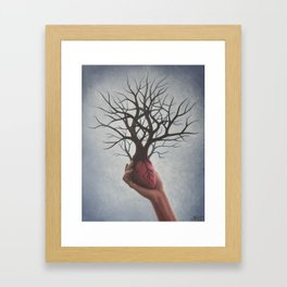 Nourishing Heart Framed Art Print