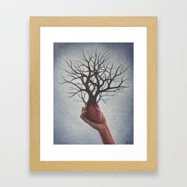 Nourishing Heart Framed Art Print