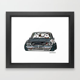 Crazy Car Art 0157 Framed Art Print