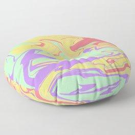 Scrambled Days Floor Pillow