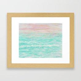 Tropical Sunset Framed Art Print