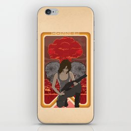 Modern Mucha - Sarah Conner iPhone Skin