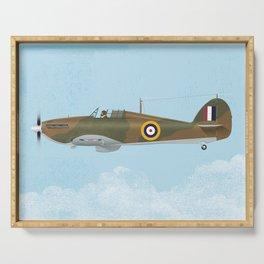 Hawker Hurricane Serving Tray