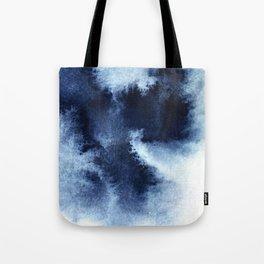 Indigo Nebula Tote Bag