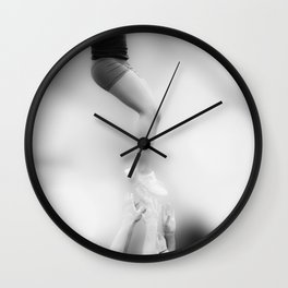 Helping Hands Wall Clock