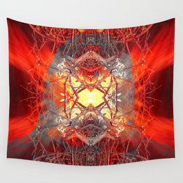 Spontaneous human combustion Wall Tapestry